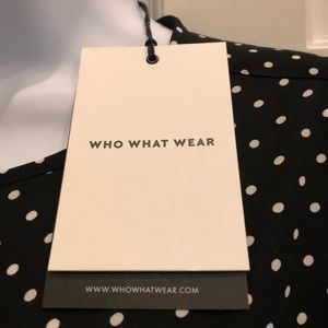 Who What Wear blouse NWT